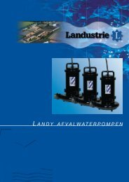 Afvalwaterpompen - Landustrie