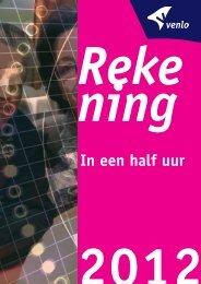 Jaarrekening in een half uur - Gemeente Venlo