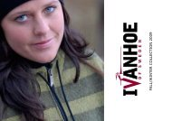 FALL/WINTER COLLECTION 2009 - Ivanhoe