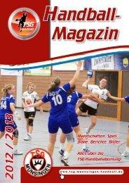 Weibliche E-jugend - TSG Münsingen Handball