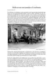 Melkvervoer met paarden of vrachtauto - Zuivelhistorie Nederland