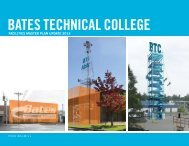 Facilities Master Plan DRAFT - Bates Technical College