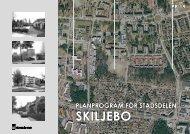 Planprogram för stadsdelen Skiljebo - Västerås stad