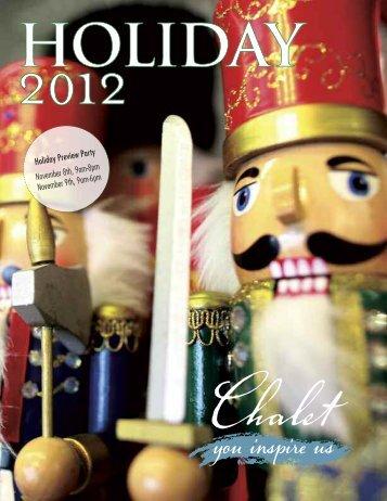 Holiday 2012 - Chalet Nursery