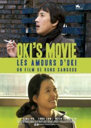 Oki's Movie - Dossier de presse - Tamasa distribution