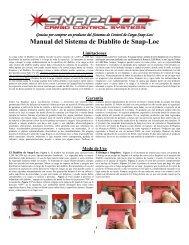 Manual del Sistema de Diablito de Snap-Loc