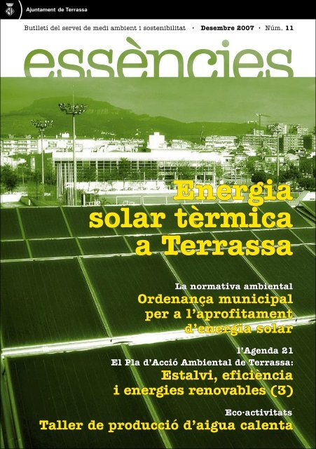 Essències núm. 11. - Ajuntament de Terrassa
