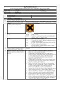 BEZPEČNOSTNÍ LIST - Alfa Laval - Page 6