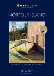 NORFOLK ISLAND - Scenic Tours