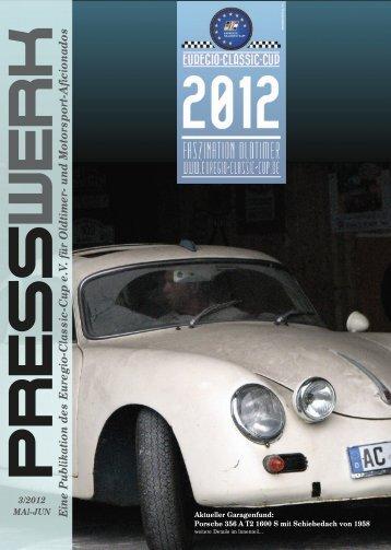 PRESSWERK Vol. 3/2012 - Euregio-Classic-Cup
