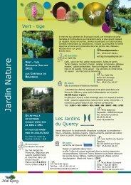 Nature et Jardin - Pays Midi-Quercy