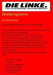 Wahlprogramm - DIE LINKE. Kreisverband Heinsberg