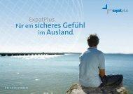 Info Broschüre - Krankenversicherungsschutz im Ausland