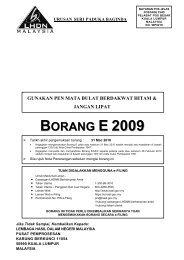 E 2009 - Lembaga Hasil Dalam Negeri