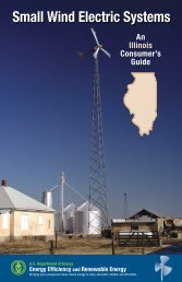 Small Wind Electric Systems: An Illinois Consumer's Guide (Revised)