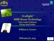 EcoRightTM MBR Reuse Technology