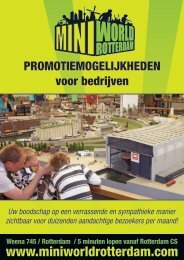 Download de flyer - Miniworld Rotterdam