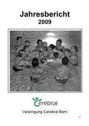 Jahresbericht 2009 - Vereinigung Cerebral