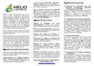 travail méthodologique activités d'helio projets en cours