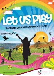 Play strategy 11-14 - Rhondda Cynon Taf