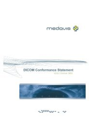 DICOM Conformance Statement