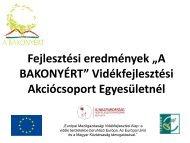 Letölthető - Bakonyért Vidékfejlesztési Egyesület