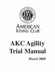 Agility Trial Manual