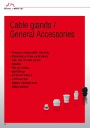 Cable glands / General Accessories - Phoenix Mecano Kft.