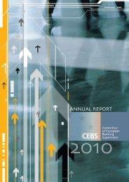 Annual report 2010 - European Banking Authority - Europa