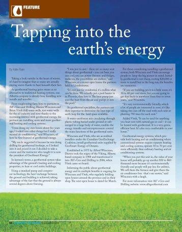 Alf's Geo & Drilling Powerin' The Patch - GeoSmart Energy