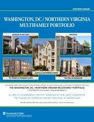washington, dc / northern virginia multifamily portfolio - Transwestern