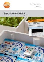 Enkel temperaturmätning - Nordtec Instrument AB