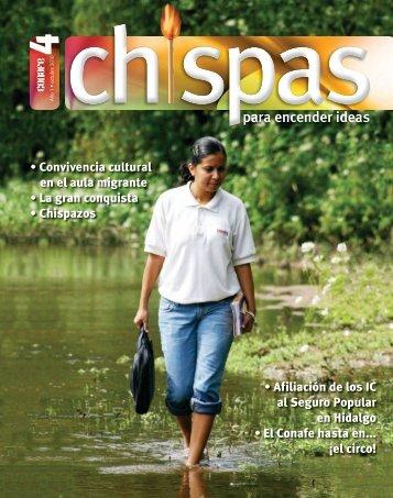 Revista: Chispas No. 4 - conafe.edu.mx