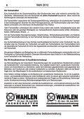 Wahlzeitung 2012 - Studierendenschaft der RWTH Aachen - RWTH ... - Seite 6