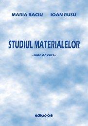 Studiul materialelor - PIM Copy