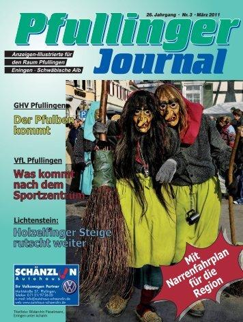 Journal Ausgabe März 2011.indd - beim Pfullinger Journal
