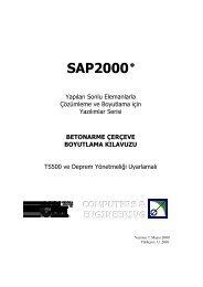 SAP2000 - Computers & Engineering