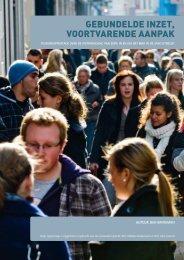 gebundelde inzet, voortvarende aanpak - Nederlands Jeugdinstituut