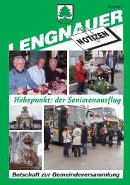 LN_2_08_internet:Nr 2/07 streifen - Einwohnergemeinde Lengnau BE