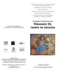 FERNANDO III, TIEMPO DE CRUZADA - Consejo Superior de ...