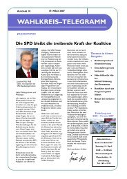 Ausgabe 10 – März / 2007 - Joachim Poß