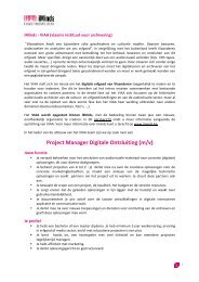 Project Manager Digitale Ontsluiting (m/v) - iMinds