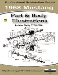 DEMO - 1968 Mustang Part & Body Illustrations - ForelPublishing.com