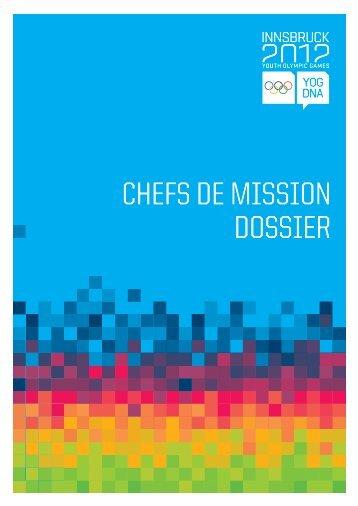 CHEFS DE MISSION DOSSIER - RERO DOC
