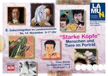 Einladung zum 8.Geburtstagsfest.pdf - Landesmuseum ...