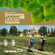 Memoria de Responsabilidad Social Corporativa 2009