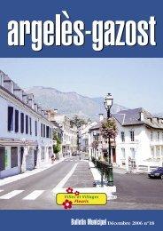 N°18 - Décembre 2006 - Argeles Gazost