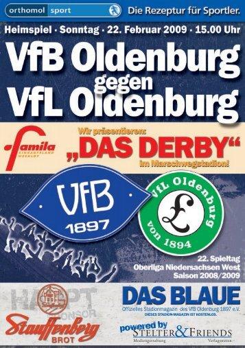 Freitag, 06. März 2009 Die VfB-Pressekonferenz - VfB Oldenburg