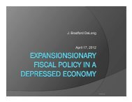 Download 20120417 econ 191 fiscal policy in a depressed economy
