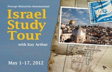 Israel Study Tour - Precept Ministries International | Bible